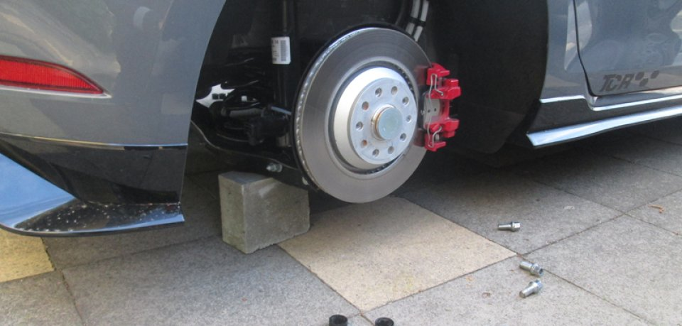 In Wolfsburg wurden schon wieder Räder abmontiert. Die Polizei ermittelt. (Archivbild)