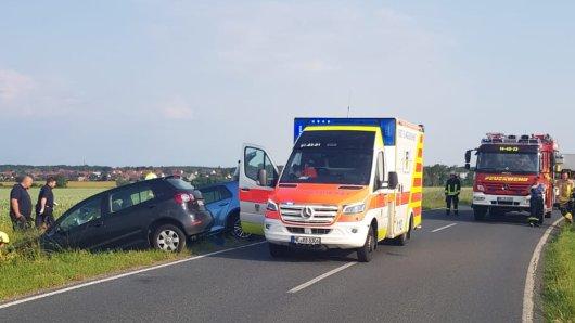 Die Feuerwehr war heute zwischen Meinkot und Velpke im Einsatz.