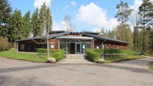 Das Waldpädagogikzentrum Hahnhorst. Hier kam es zu dem tödlichen Unglück.