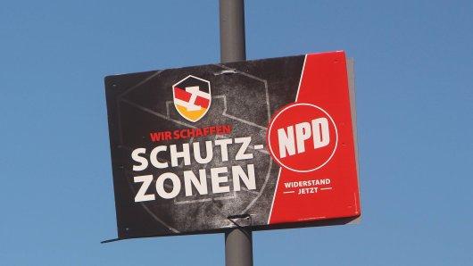 """Mit den Mit ihren """"Schutzzonen"""" sorgt die NPD deutschlandweit für Aufsehen."""