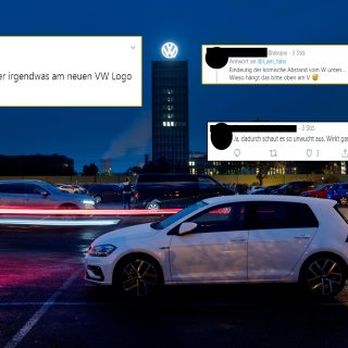 Volkswagen hat am Montagabend das neue Logo veröffentlich - die Kritik ließ nicht lange auf sich warten.