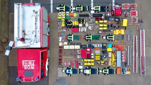 Auch die Freiwillige Feuerwehr Heiligendorf macht bei der #TetrisChallenge mit.