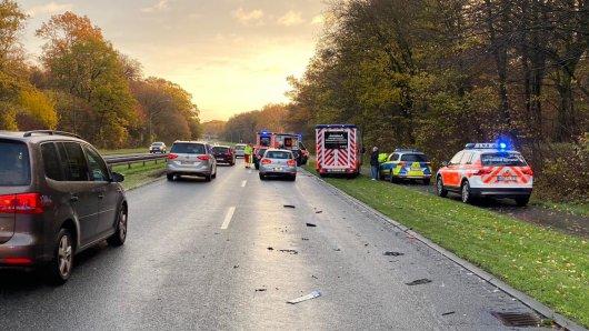 Drei Frauen wurden bei dem Unfall in Wolfsburg verletzt.