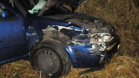 In Wolfsburg hat es am Mittwoch einen schlimmen Unfall gegeben. Zwei Menschen wurden schwer verletzt.