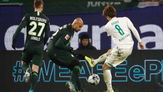 Nach dem Spiel VfL Wolfsburg gegen Werder Bremen haben Ultras der Wolfsburger versucht, den Bremen-Block zu stürmen.