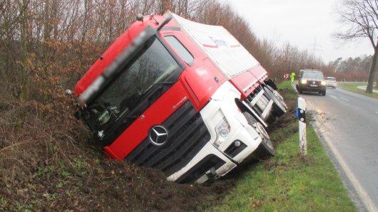 Der Grund für den LKW-Unfall in Wolfsburg ist noch nicht klar.
